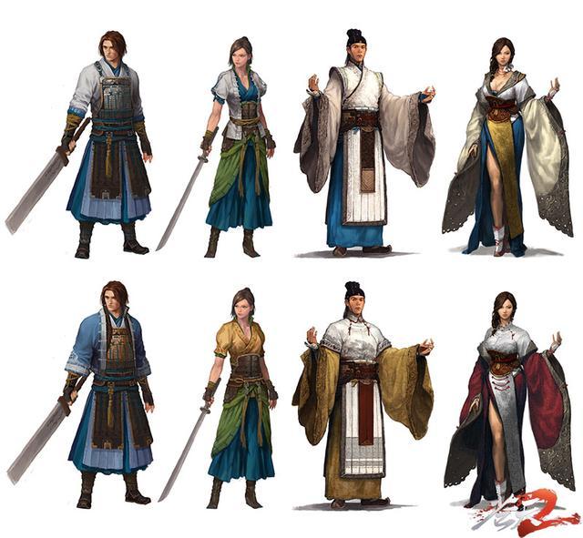 古代女剑客换装_古代换装小游戏图片