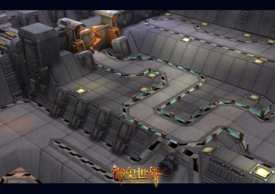 智能科技植入《神鬼世界》兵工厂