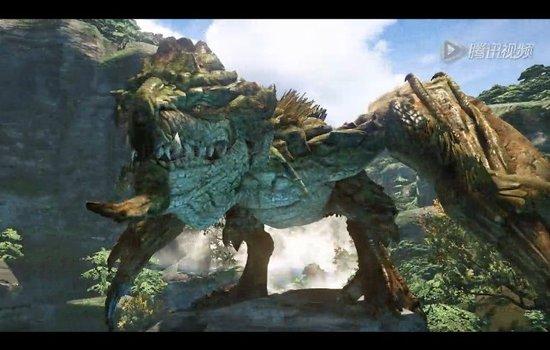 《怪物猎人OL》实际游戏画面演示