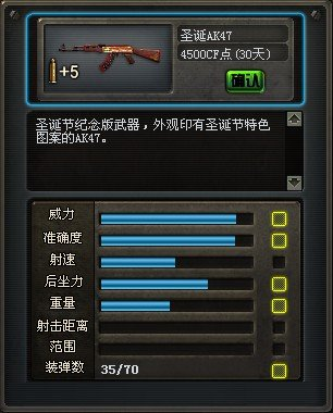圣诞AK47评测
