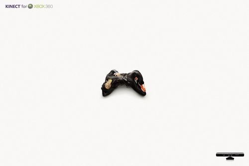 Xbox游戏机广告  为游戏而生的男人