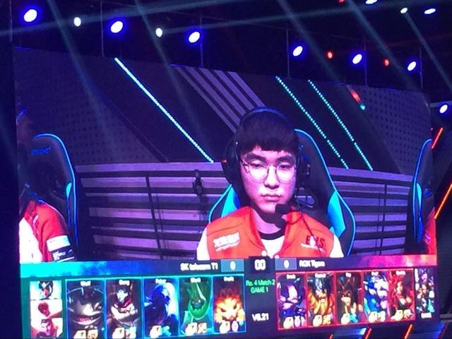 韩国Kespa杯半决赛打响 Faker最受追捧