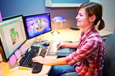 美国顶尖游戏设计大学女学生比例超男生 达到近2比1