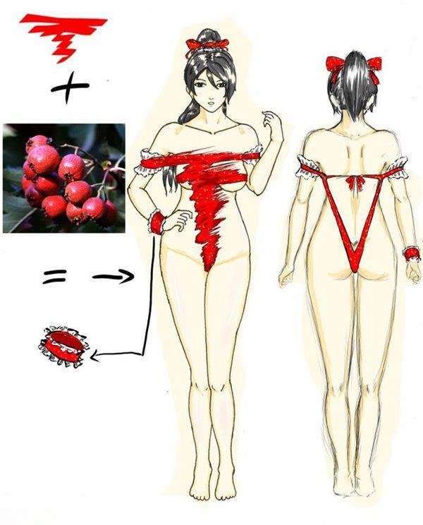 情趣内衣既视感 日本玩家大胆设计奶排3泳装