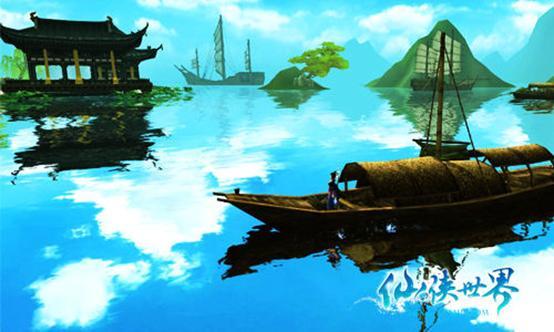 波涛安悠悠《仙侠世界》寄情于海