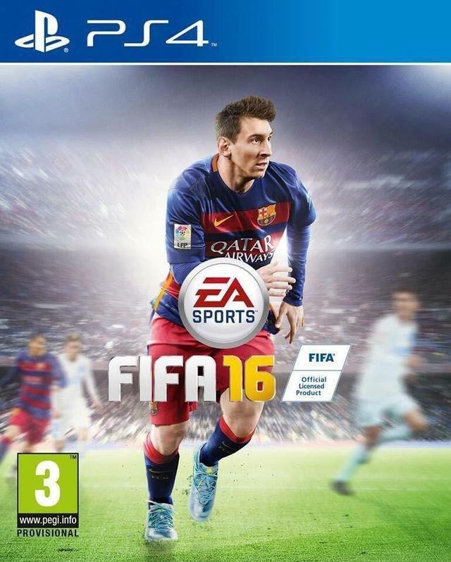 《FIFA 16》封面正式公布 封面球星还是他