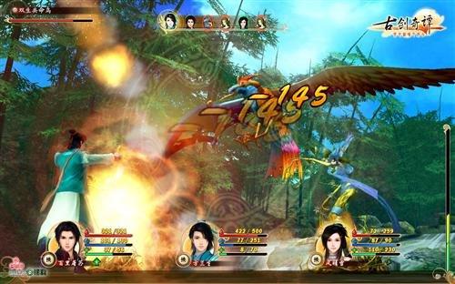 《古剑奇谭》剑舞流光 爽快的战斗系统
