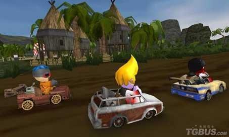 PSP《小小大赛车》中文版下载