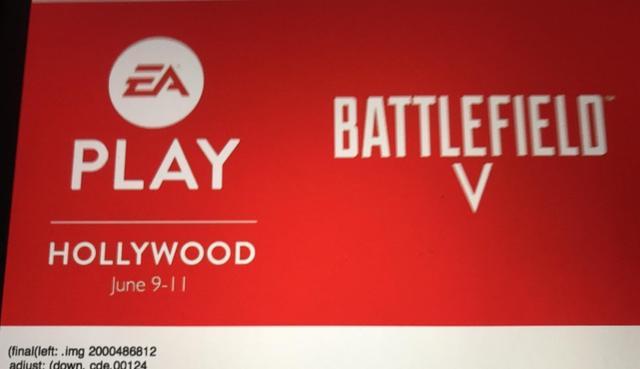 EA Play海报曝光 《战地5》将亮相