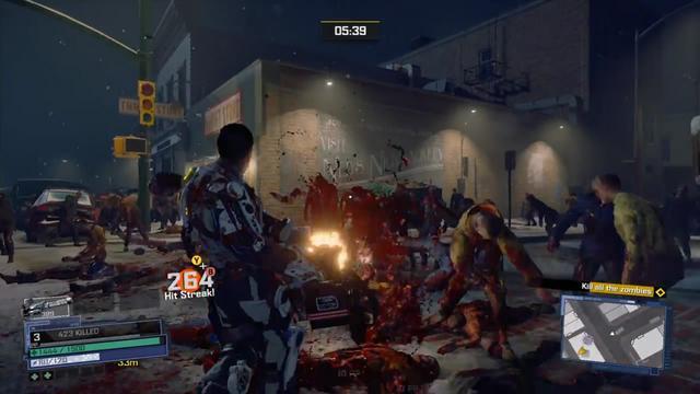 GC2016:《丧尸围城4》最新演示 男主化身雷神