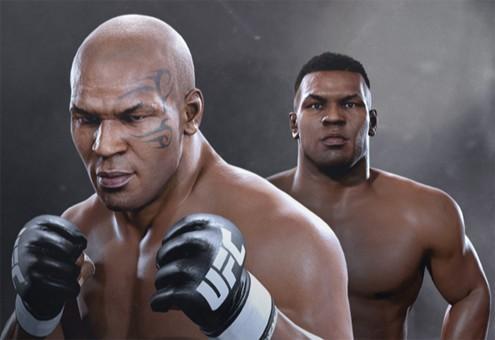 大招是咬耳朵?拳王泰森加盟终极格斗冠军2图片