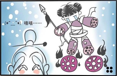 《封神榜3》四格漫画 哪吒之重塑肉身