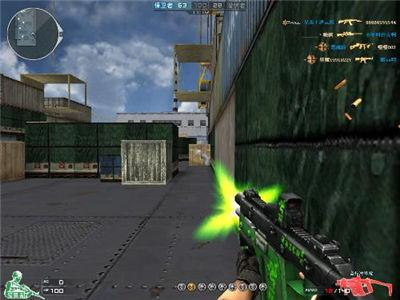 CF穿越火线 浅谈游戏当中的五大杀敌利器