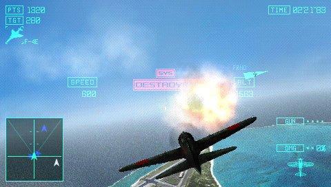 PSP《皇牌空战X2 联合攻击》最新截图