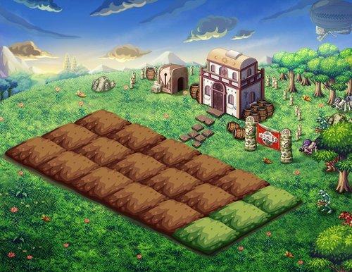 《地下城与勇士》农场装扮闪亮登场