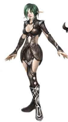 天盟数码《魔骑士》谁是最美丽女NPC