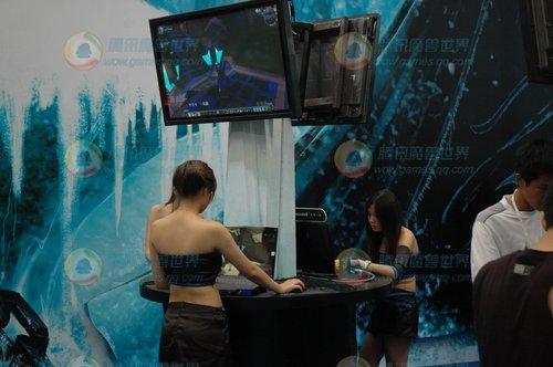 CJ网易魔兽世界展台试玩画面曝光