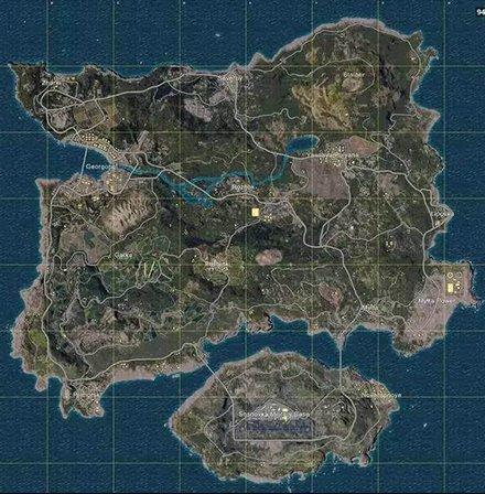 《绝地求生》新地图征名 新界面曝光