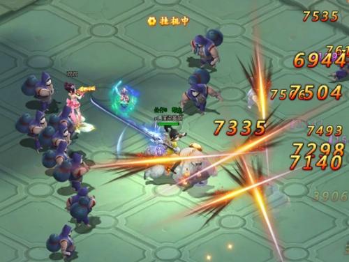 37《少年群侠传》战斗模式