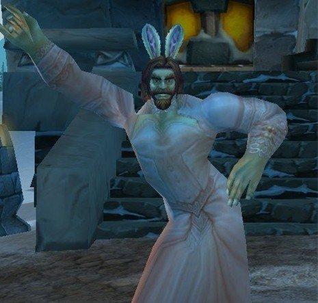 《魔兽世界》复活节截图活动:秀兔耳得奖品