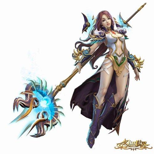 《QQ幻想世界》三大职业超华丽视频 游戏
