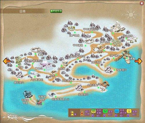 《时空战记》游戏地图