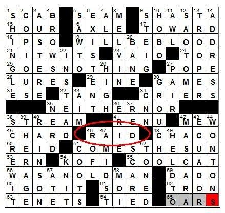 《纽约时报》填字游戏惊现魔兽世界术语