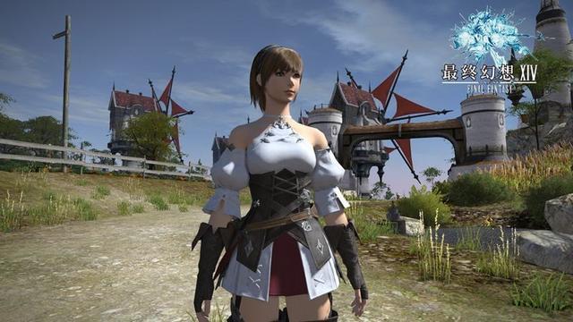 国服《最终幻想14》人类种族演示介绍