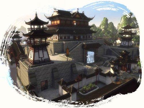 《流星蝴蝶剑OL》游戏地图