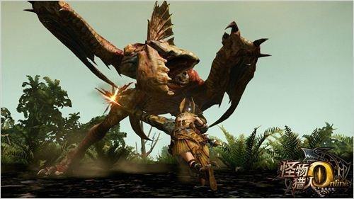 《怪物猎人OL》武器介绍:大剑