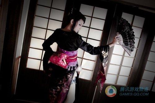 《战国Basara》地狱蝴蝶丸浓姬扇子舞