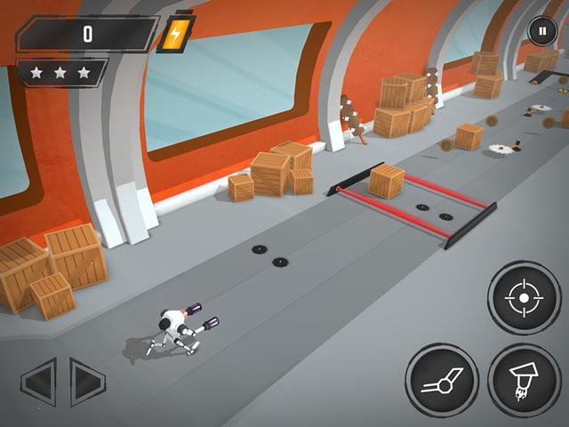 《逃生机器人》评测:属于技术宅的射击跑酷