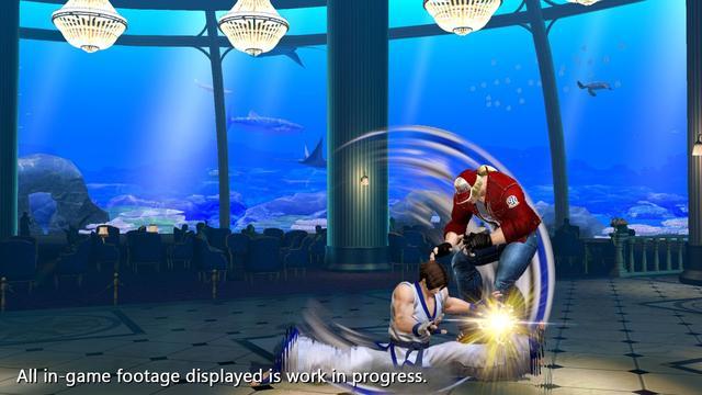 《拳皇14》新截图公开