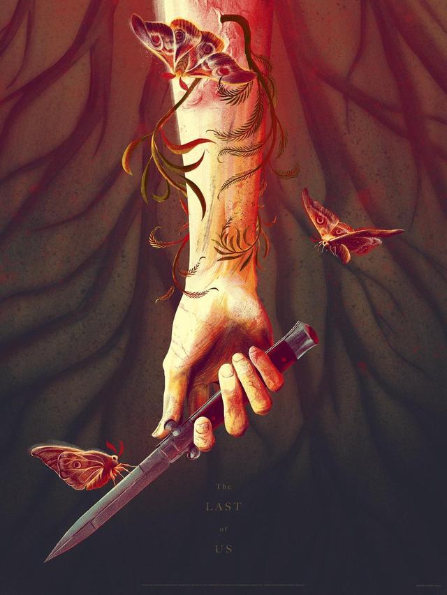 《最后生还者2》女主角纹身图案曝光 源自真人扫描-青