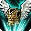 守护天使 +68点护甲、+38点魔法抗性、唯一被动:你的英雄死后会原地复活,恢复750的生命值和375的法力值,这个效果每5分钟只能作用一次。