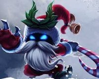 LOL冰雪节版本:铃儿响叮当 暖暖圣诞节