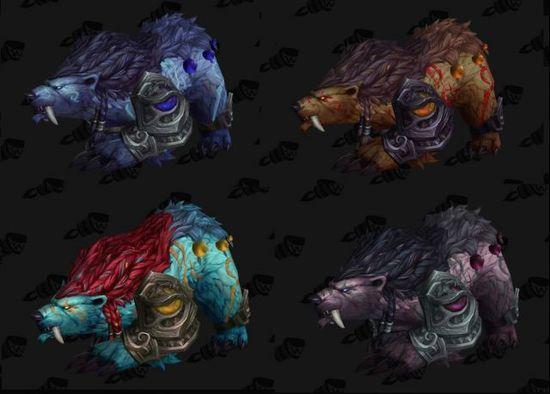 魔兽7.0增加德鲁伊神器 变身颜色根据种族而变化