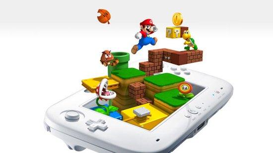 外媒曝任天堂新主机WiiU平板手柄新专利