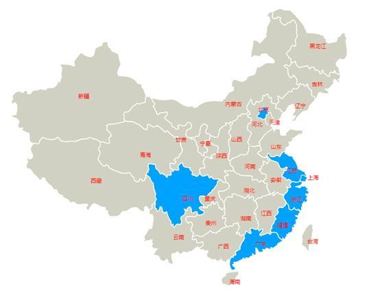 中国游企地图