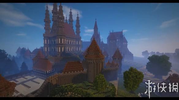 《我的世界》玩家花费三年心血 重现亚瑟王传奇城堡