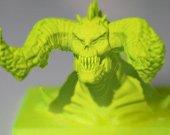 3D打印还原游戏兽首 苍天2网博会揭秘真3D技术