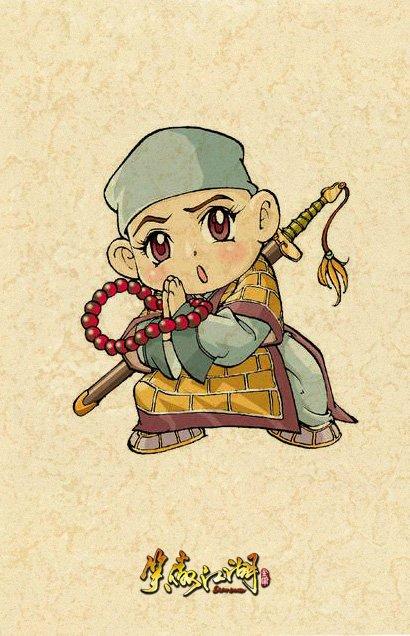 笑傲江湖卡通版 超萌人物形象重现江湖
