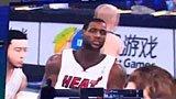 视频:热火大比分打压小牛 于嘉解说NBA2Kol