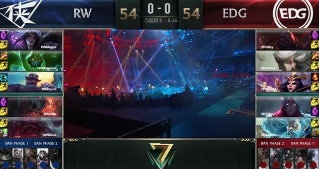 综述:EDG3:1击败RW晋级S8 再次登上S赛舞台!