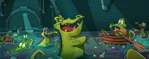 游戏改变迪斯尼 爱洗澡的小鳄鱼或成乐园新宠