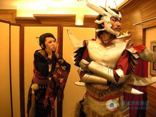 日本亲善活动《战国Basara》Cosplay