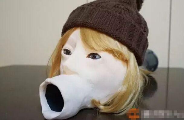 这是一个悲伤故事!日本宅男发明美少女吹面机