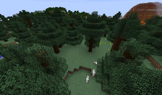 多彩的大地! 我的世界生态环境介绍