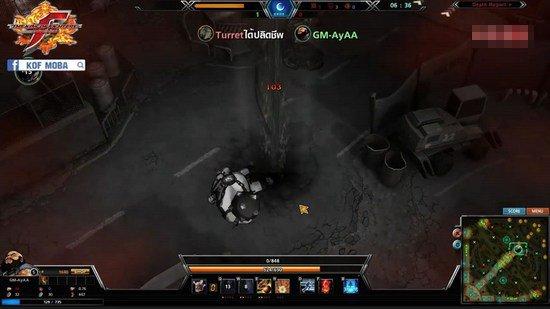 越塔杀人有风险《拳皇OL》防御塔攻击可减速玩家