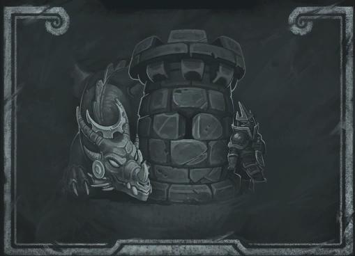 [ 摘要]炉石传说迎来了新版本更新,增加了炉石传说乱斗模式的黑板报图片